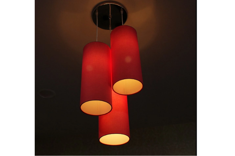 Craftter Handcrafted Fabric Hanging Lamp