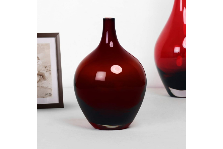 Decorative Vases to Beautify Your Home - Eadric Red Ombre Vase