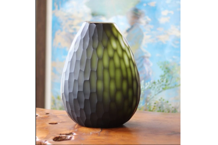 Decorative Vases to Beautify Your Home - Ombre Green Vase