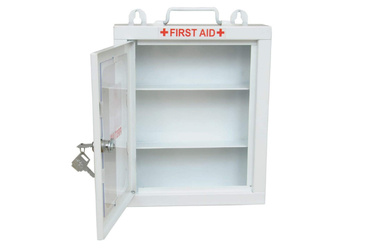 First Aid Storage Kits for Every Home - Lepose Wall Mountable Metal First Aid Box