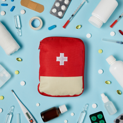 HANDY FIRST AID STORAGE KITS FOR EVERY HOME