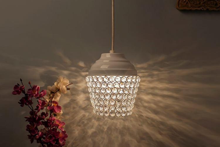 Homesake Crystal Lantern Light - Decorative Lights for Your Home