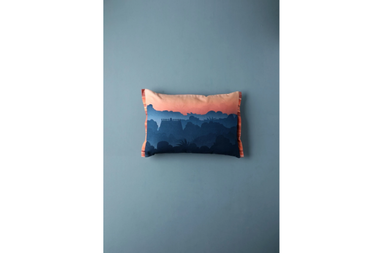 Morning Walk Cushion Cover
