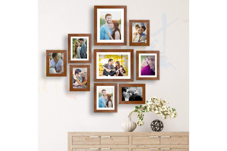 wall decor ideas - Mini Photo Ledge