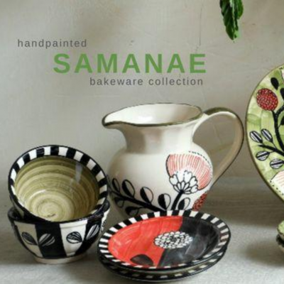 BRING HANDMADE AUTHENTICITY TO YOUR KITCHEN WITH THE SEMANAE CERAMIC COLLECTION